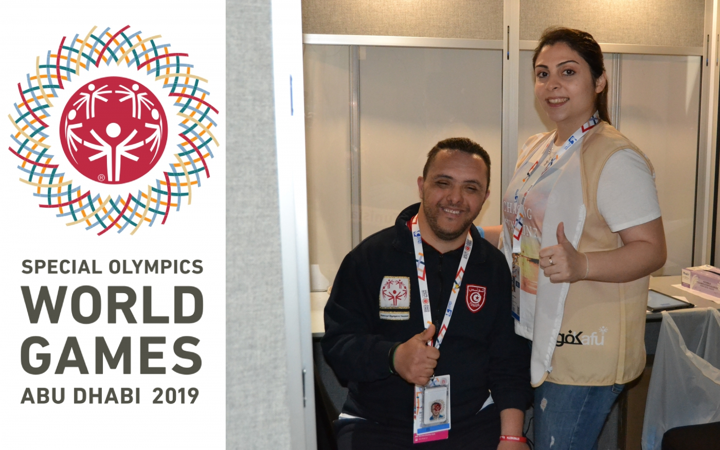 Supportive Participation in the Special Olympics 2019
